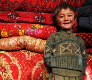 Young nomadic boy in the Wakhan Corridor