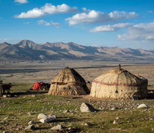 Nomadic Yurt in Afghanistan's Wakhan Corridor