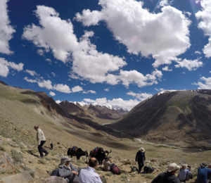 Afghanistan Mountains Camp