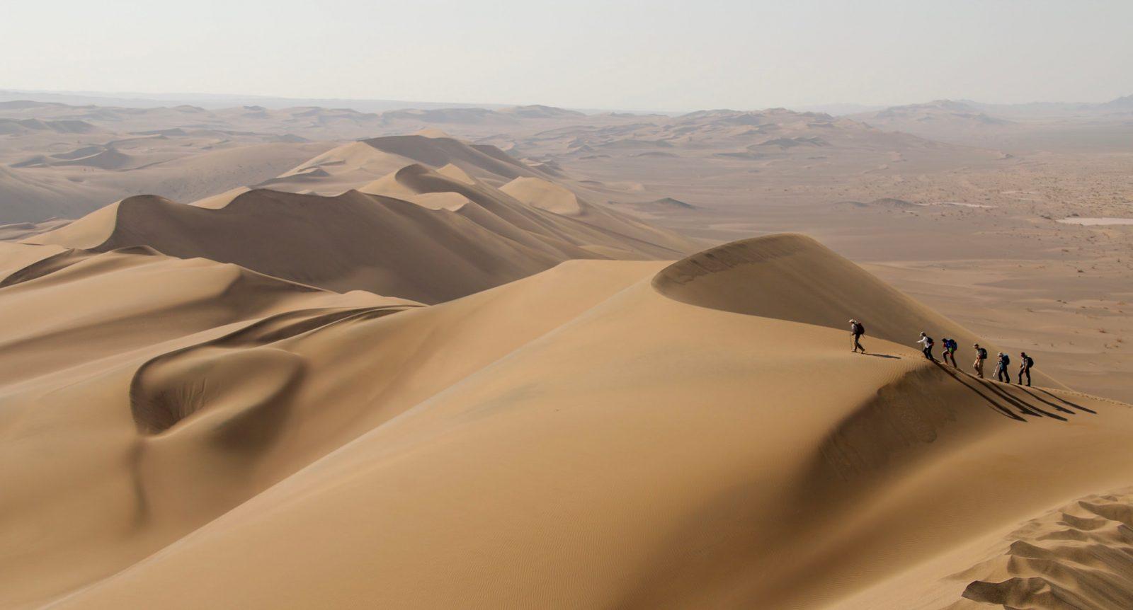 14-day Lut Desert Traverse Trek | Iran | Secret Compass