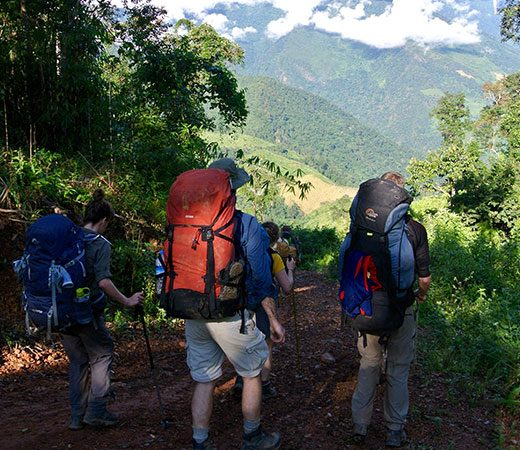 Trekking Mount Saramati Burma