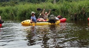 Rafting in Gabon