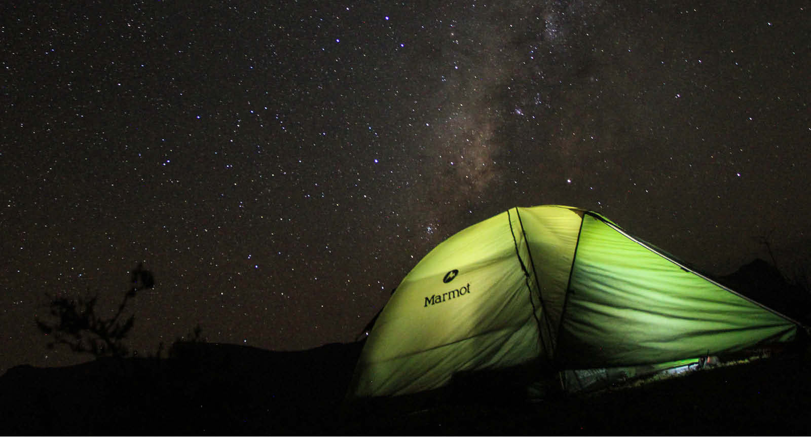 Starry night and tent in Ethiopia (c) Richard Wain-Hobson