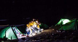 Campfire on Kurdistan adventure