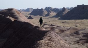 Trekking in Iran's Lut Desert shot on expedition by Jerome Poulin