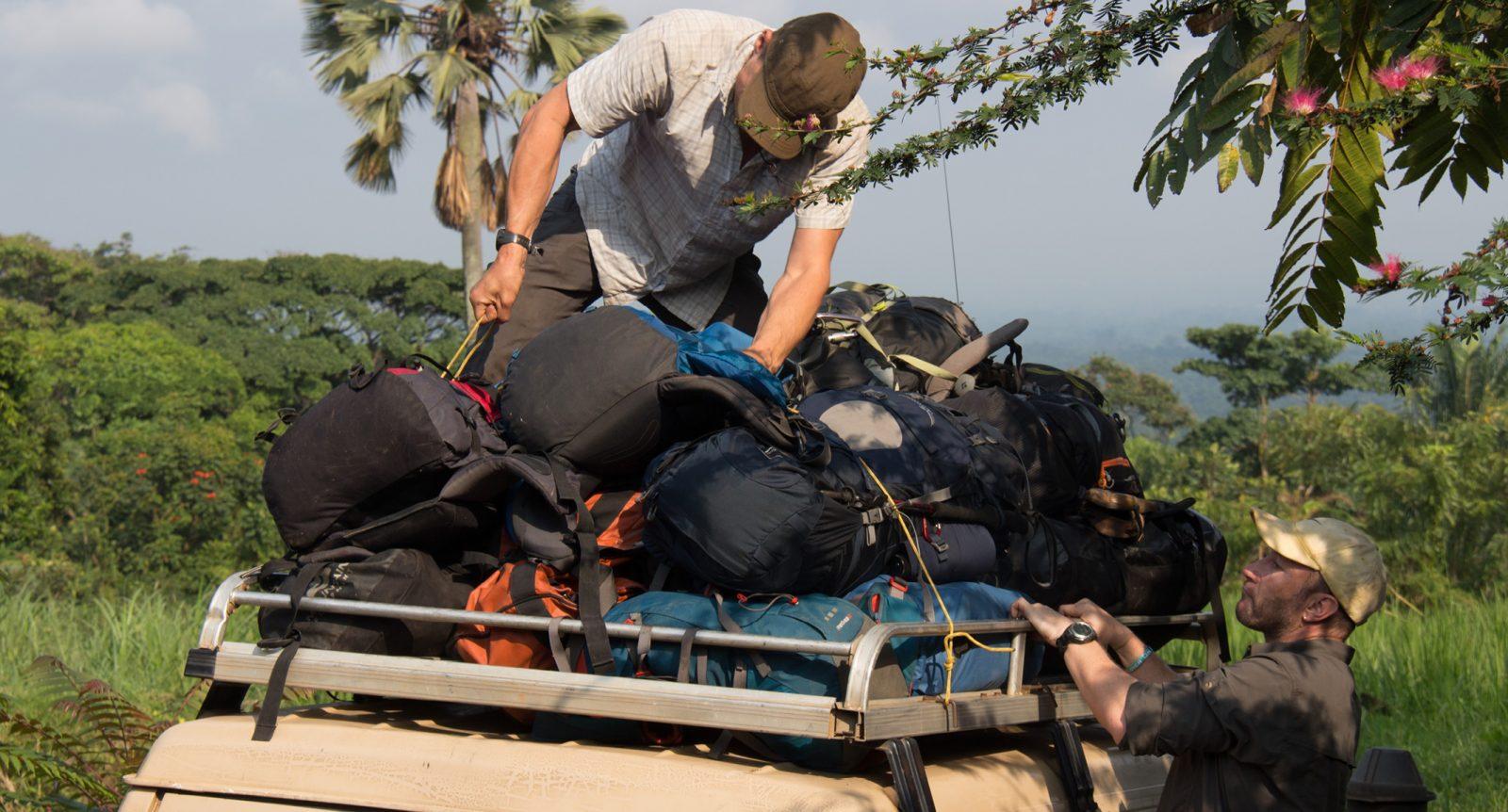 Gabon rafting prep