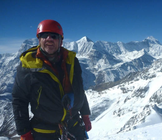 Expedition leader Ade Summers