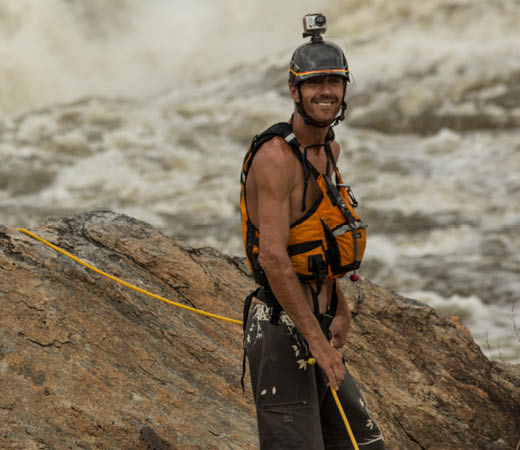 Expedition leader Pete Meredith