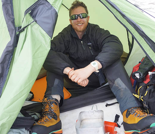 Expedition leader Dave Luke Kurdistan