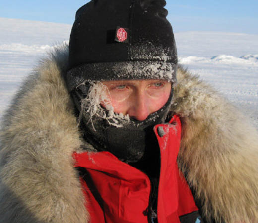 Expedition leader Emma Linford