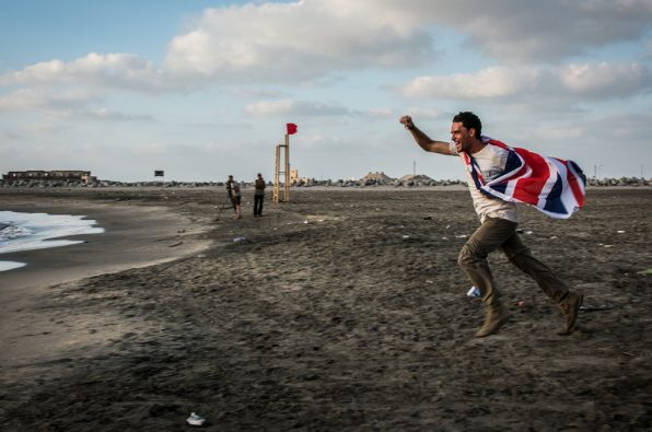Levison Wood celebrates following Walking the Nile