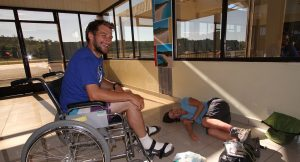 Ali in Madagascan hospital