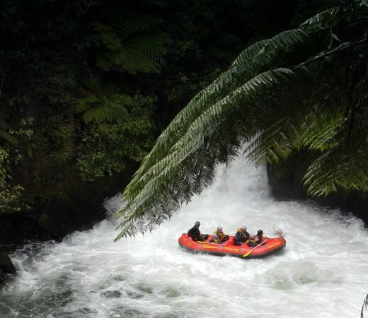 Rafting in Gabon