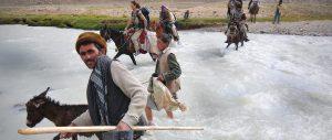 Afghanistan river crossing