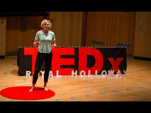 "Anna McNuff talks for a Ted x Talk ""But what if I fail?"""