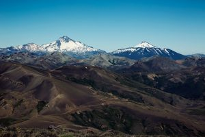 Argentina Gaucho Mountains Snow Capped View