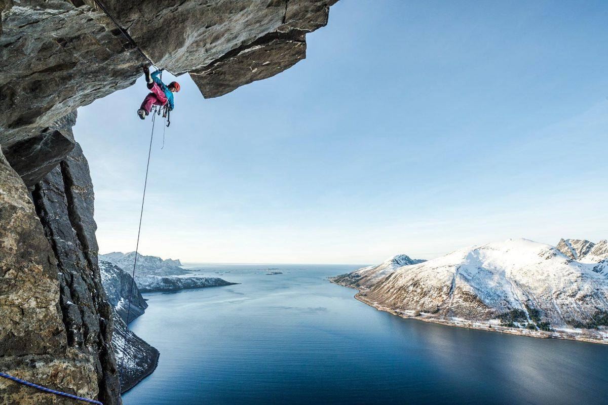Banff World Tour climbing image for Secret Compass expeditions website