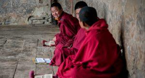 Bhutan Autumn Exped Detail Hero Monks