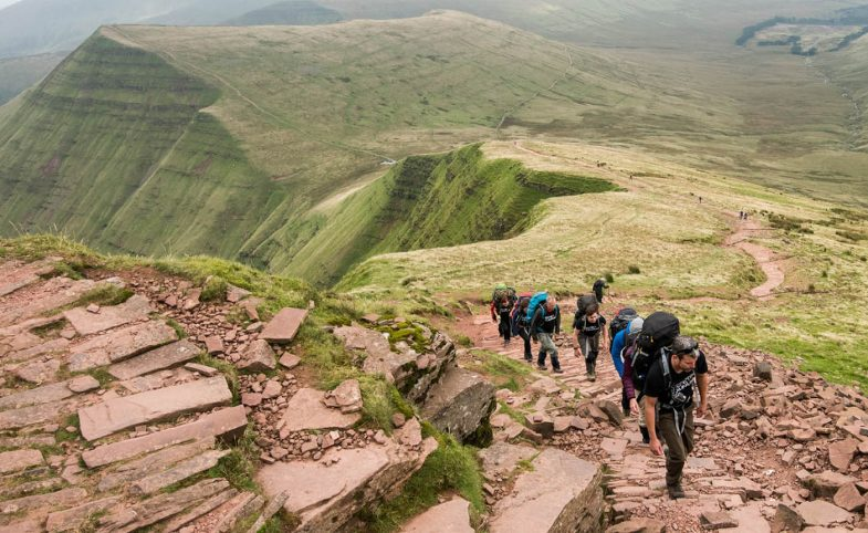 Brecons UK adventure weekend May hero image