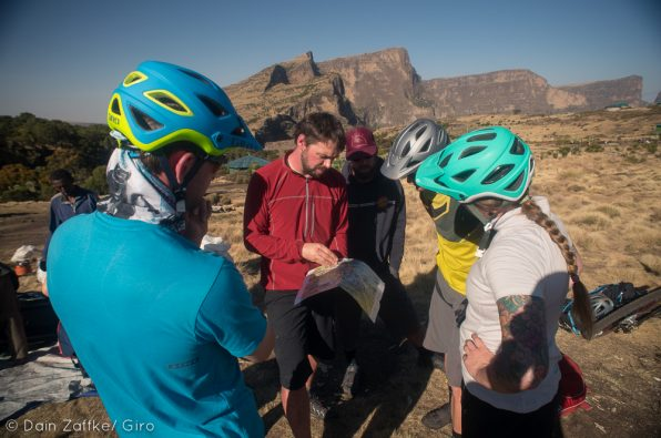 Secret Compass team gather around on Ethiopian adventure