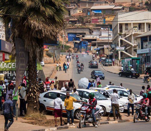 DRC Virunga, city centre
