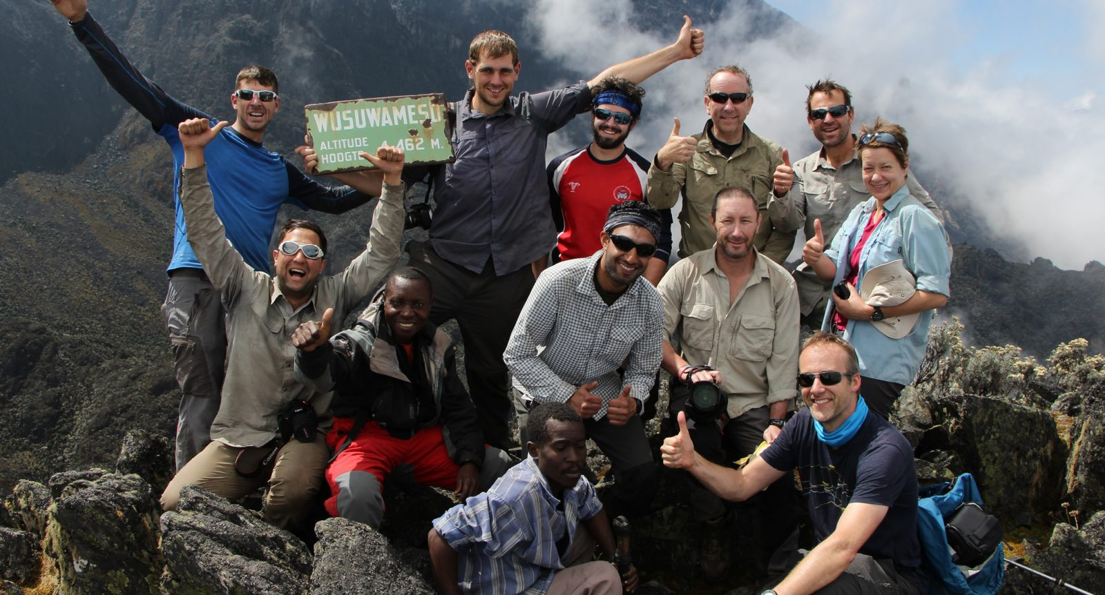 DRC Virunga team expedition with Secret Compass