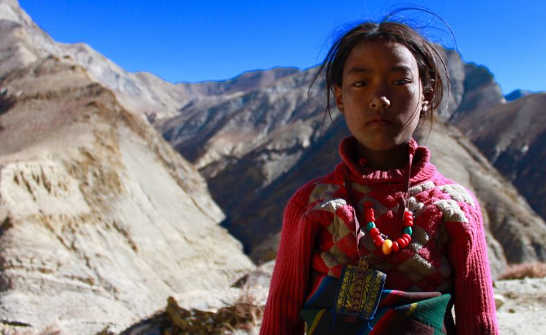 Dolpo Pa, local Nepalese woman