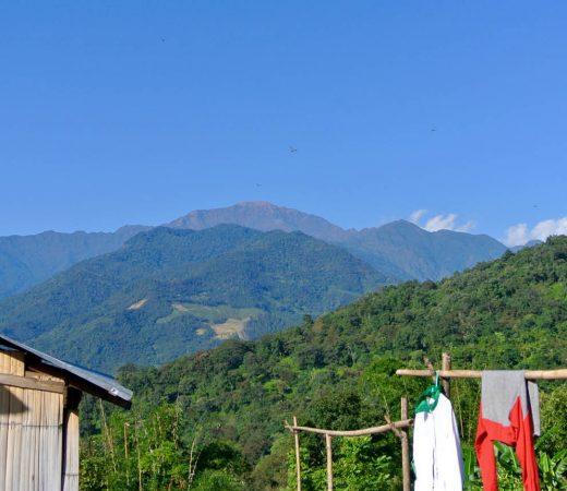 Mount Saramati, Burma