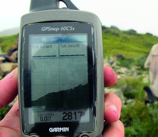 How to prepare for an expedition, GPS tool