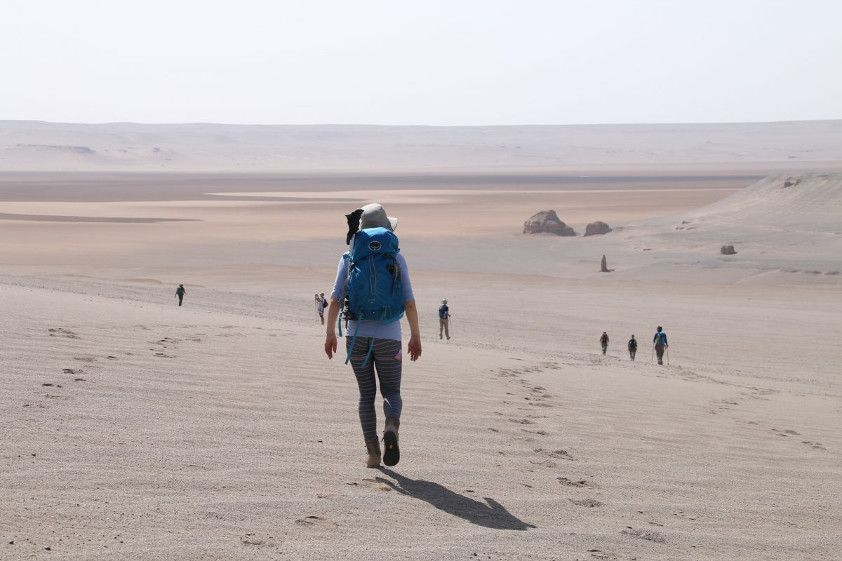 Iran's Lut desert trek adventure with Secret Compass