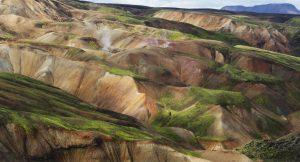 Iceland scenery, Lauvagevur Trail