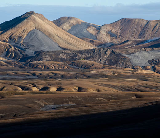 Iceland trekking on the Laugavegur Traila