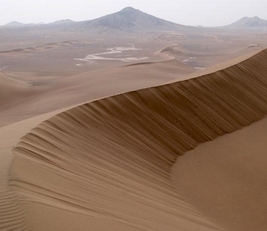 Iran Lut Desert sand dunes