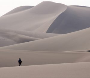 Iran Lut Desert soft rolling dunes