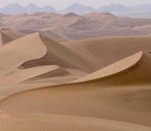 Iran, Lut Desert Dunes.