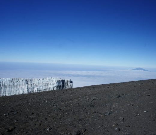 Trekking continues up mount Kilimanjaro