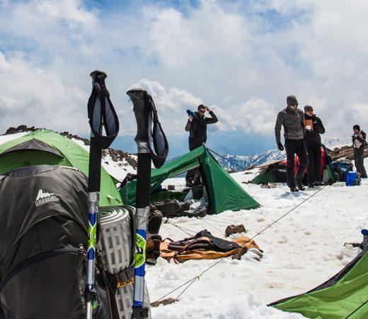 Georgia, mountain climbing expedition
