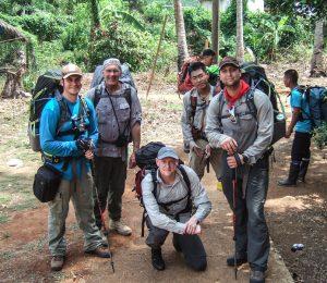 Group photo of secret compass team in the Darien Jungle