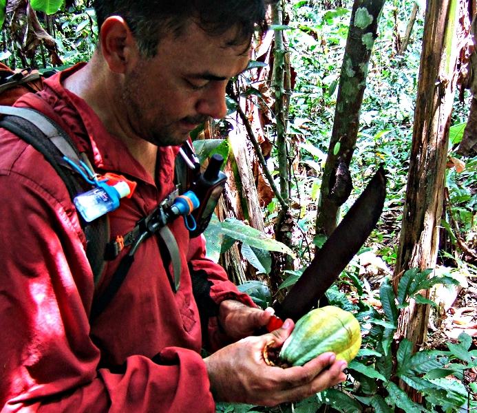 Rick Morales image in Panama' s Darien Gap jungle