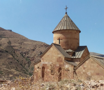 Armenia image, monastery in the mountains
