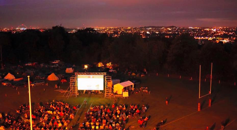 Outdoor screenings at Adventure Travel Film Festival