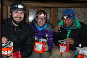 Long handled spoons and expedition foods