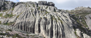 Granite massif in Madagascar