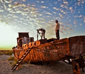 Expedition filming Uzbekistan