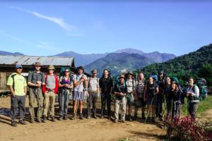 The Secret Compass team in Burma