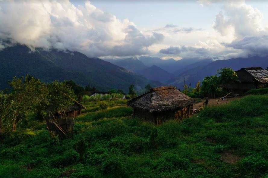 Naga Village, Burma