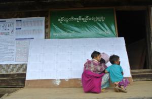 The local Burmese people