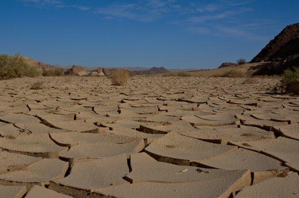 The arid Sinai desert