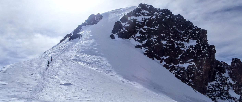 Trekking in Georgia climb Mount Kazbek