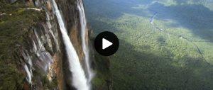Venezuela Abseil Angel Falls link to BBC Extreme Mountain Challenge clip